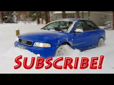 Nogaro Blue Audi S4 Chris O Channel Trailer - Automotive Mayhem...