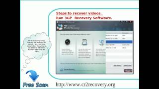 Easy Way To Recover Inaccessible 3GP videos