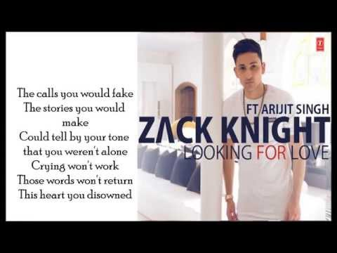 Zack Knight - Looking For Love LYRICS