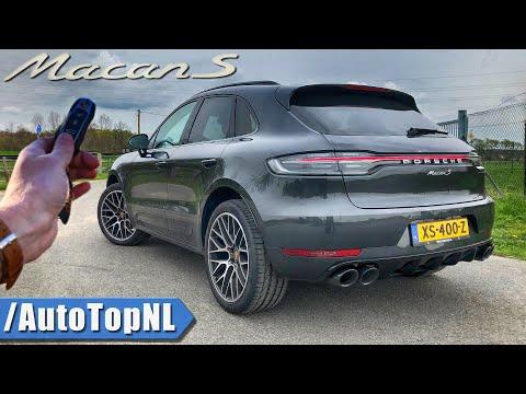 2019 Porsche Macan S REVIEW POV Test Drive on AUTOBAHN & ROAD by AutoTopNL