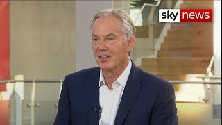 Blair: No-deal Brexit could lead to 'silent revolution'