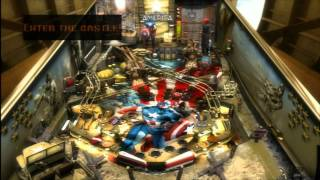 Classic Game Room - CAPTAIN AMERICA pinball table PS3 and Xbox 360 review