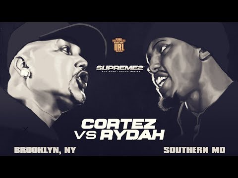 CORTEZ VS RYDA SMACK/ URL RAP BATTLE | URLTV