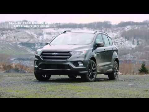 all new ford escape kuga 2016 drive offroad youtube. Black Bedroom Furniture Sets. Home Design Ideas