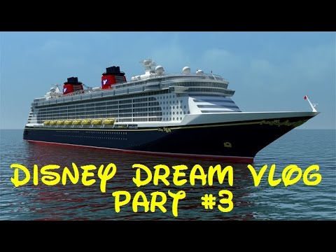 Disney Dream VLOG - Part #3 - Castaway Cay, Onboard Shopping, Pirate's Night, Fireworks!