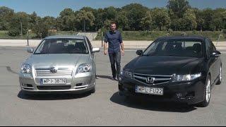 Uywane bez ryzyka Toyota Avensis II kontra Honda Accord VII