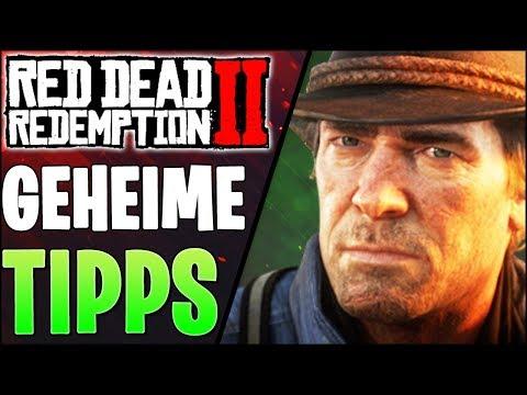 Versteckte Tipps Die Du Vom Spiel Nicht Gezeigt Kriegst - Red Dead Redemption 2 Tipps Deutsch