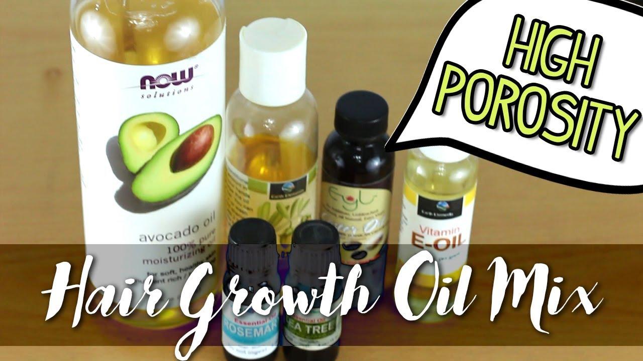 Diy Hair Growth Oil Mix For Scalp Youtube