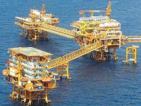 OIL AND GAS OFFSHORE PLATFORM, RIG DRILLING SUPORT VESSEL