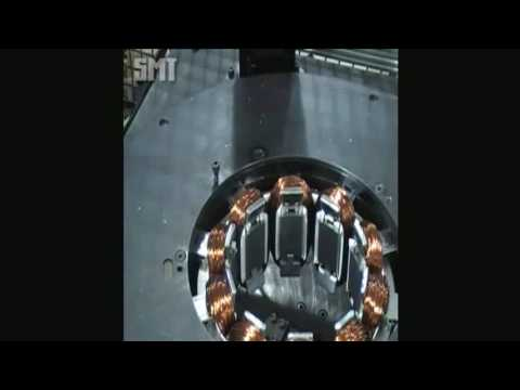 SMT Induction Motor Production Line - Stator Winding / Coil Inserting / Lacing / Forming