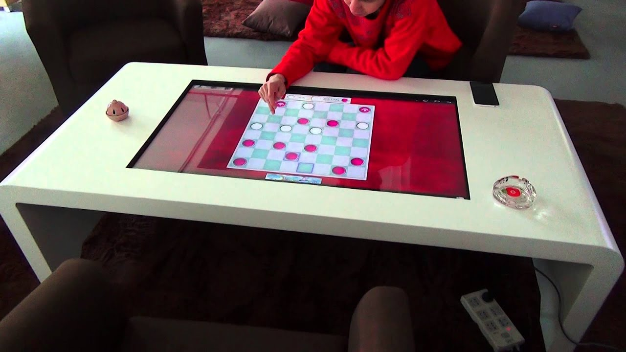 Merveilleux Touch Screen Coffee Table