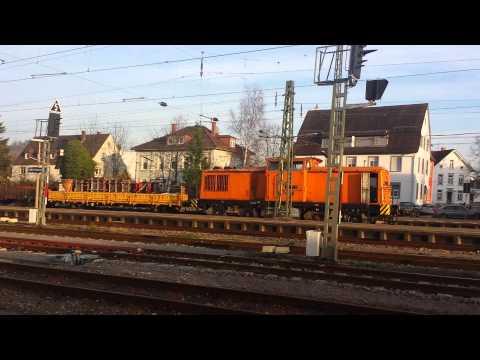 Zug mall wieder in lahr schwarzwald