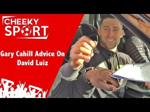 CheekySport Give Gary Cahill Advice On David Luiz - Chelsea 3-0 Leicester | Palace 0-1 West Ham