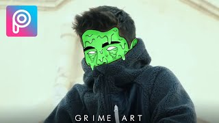 picsArt Tutorial  Edit Grime Art Effect  Deny King