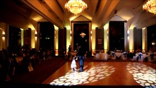 Wedding Reception Uplighting by DJ Dante Mincin Pittsburgh Greensburg PA