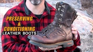 Preserving & Conditioning Leather Boots