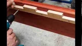 Gus Fine Furniture Design  Encounter Queen Size Bed Using Jarrah Timber