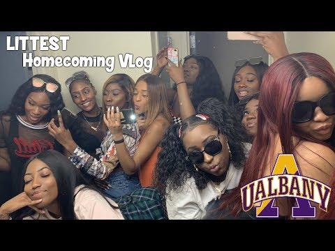 UAlbany Homecoming Vlog || Kadi Shyan