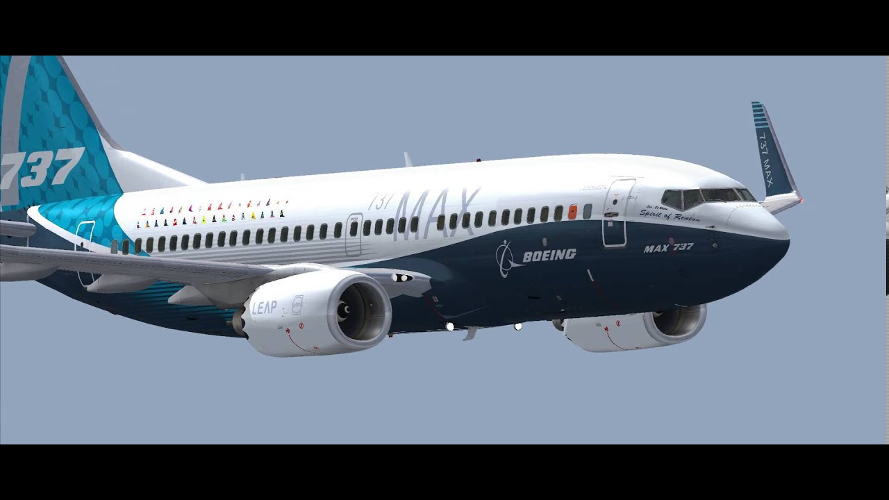 FSX LIVERIES 737MAX DOWNLOAD