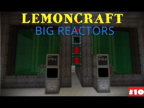 Выживание на сервере с модами (ДЕЛАЕМ Big Reactors) #10