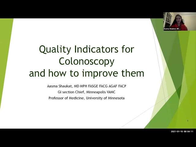 Quality Indicators for Colonoscopy and How to Improve Them