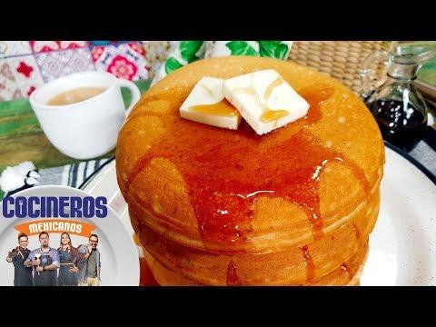 Receta: Mega hotcakes rellenos | Cocineros Mexicanos