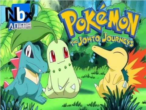 Karaoke Pokémon: Los Viajes Johto Full Opening