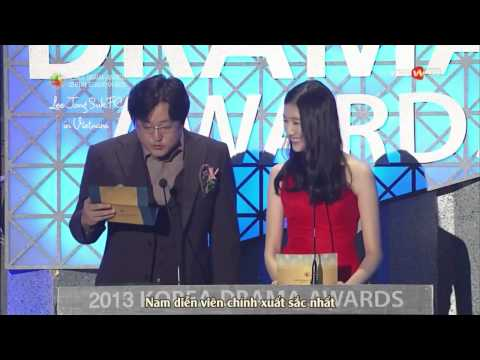 [Vietsub] Korea Drama Awards 2013 - Best Actor Lee Jong Suk