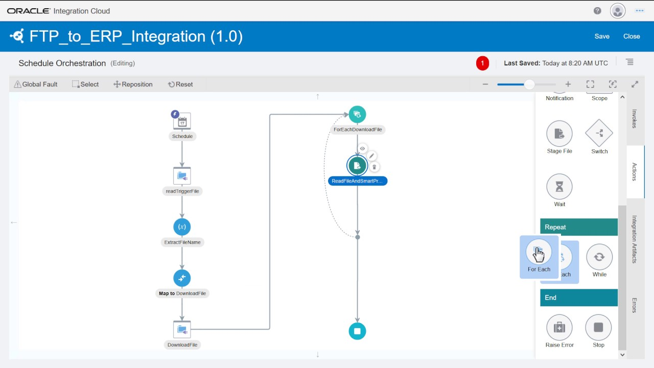 File-based Integration for ERP Cloud with Oracle Integration