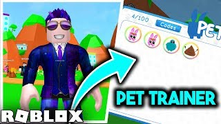 ⭐ I BECAME A PETS TRAINER! ⭐ ROBLOX