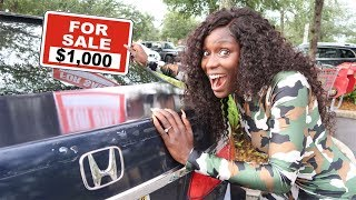 SELLING YOUR CAR FOR $1,000 (REVENGE PRANK)