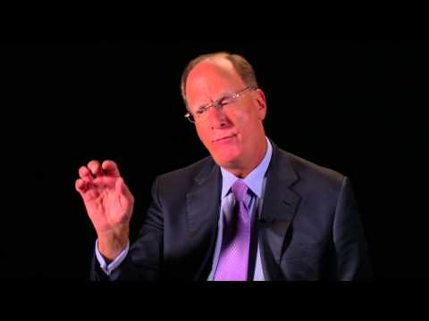 Leading in the 21st century: Larry Fink on financial services and the trust gap