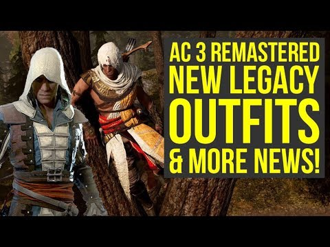 Assassin's Creed 3 Remastered Gameplay NEW INFO - New Legacy Outfits & More News (ac3 remastered) thumbnail