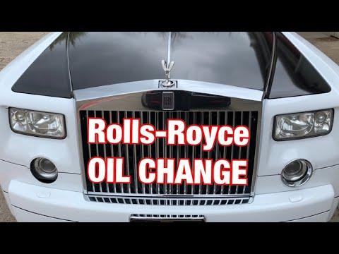 Rolls Royce Phantom - OIL CHANGE