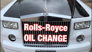 Rolls-Royce Phantom - OIL CHANGE