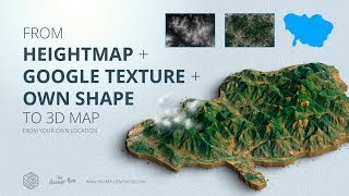 Paper Maps - The perfect stage for your 3D Maps and Icons