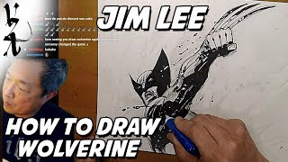 Jim Lee  - How To Draw Wolverine