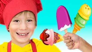 Delicious ice creams - Kids song by Tim and Essy