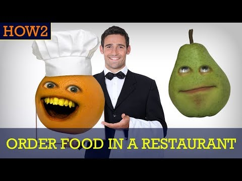 HOW2: How to Order Food at a Restaurant