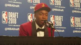 Collin Sexton on playing with LeBron James & the Cleveland Cavaliers