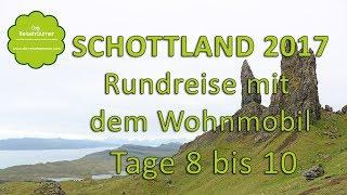 Schottland mit dem Wohnmobil - Teil 4 - Isle of Skye, Eilean Donan Castle