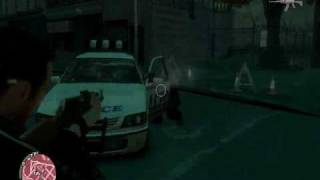 GTA4 Gameplay PC High Settings HD4850 OC