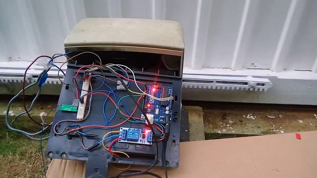 Arduino Uno Powered Sliding Gate Youtube
