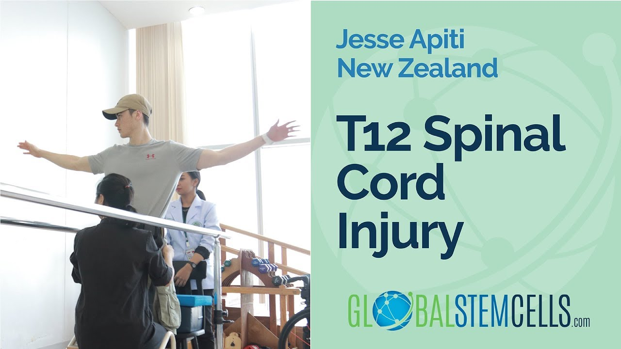T12 Spinal Cord Injury Patient Jesse From New Zealand Takes Assisted