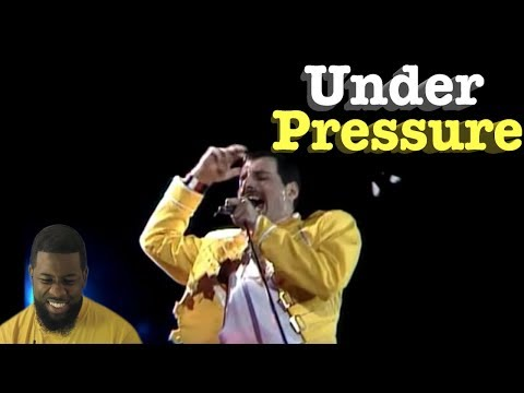 "Queen - ""Under pressure"" (Live at Wembley) 