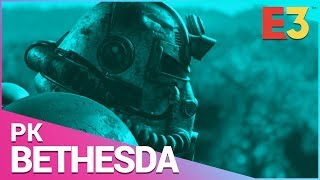 E3 2018 | Bethesda PK: Fallout 76, The Elder Scrolls 6, Doom: Eternal, Rage 2 & Starfield