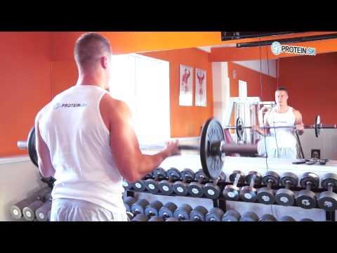 Cviky na biceps : Bicepsový zdvih s činkou - zásobník cvikov