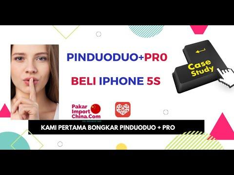 Lubuk Murah China 2020 - Beli iphone 5s Pinduoduo + Pro Murah Gila