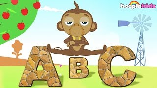 ABC Song with Funny Mango | Nursery Rhymes for Children by HooplaKidz