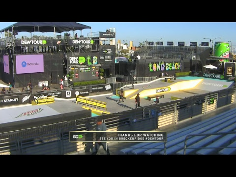 2017 Dew Tour Long Beach Day 3: Am Street Gap, Pro Bowl Fina